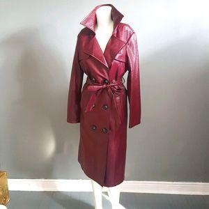 PRICE DROP Women's Patent Trench Coat